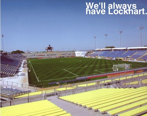 Lockhart Stadium image for The Offside Rules