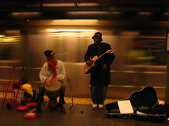 Manhattan Midtown - The Band (janthepea) Tags: christmas york nyc music holiday newyork colors subway drums singing metro guitar band timessquare singers happyholidays merrychristmas songs 42nd jeanphilipperebuffet jeanphilippephotocom renarebuffetcom