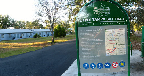 Upper Tampa Bay Trail, Tampa, Florida, USA