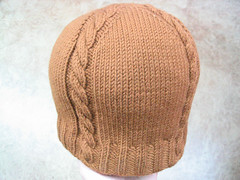 Knit Cabled Beanie