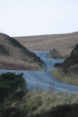 West Pennine Moors (oO Gorilla) Tags: road sky west tree wall clouds canon fence matt landscape eos gate matthew rivington 10d moors winding pennine