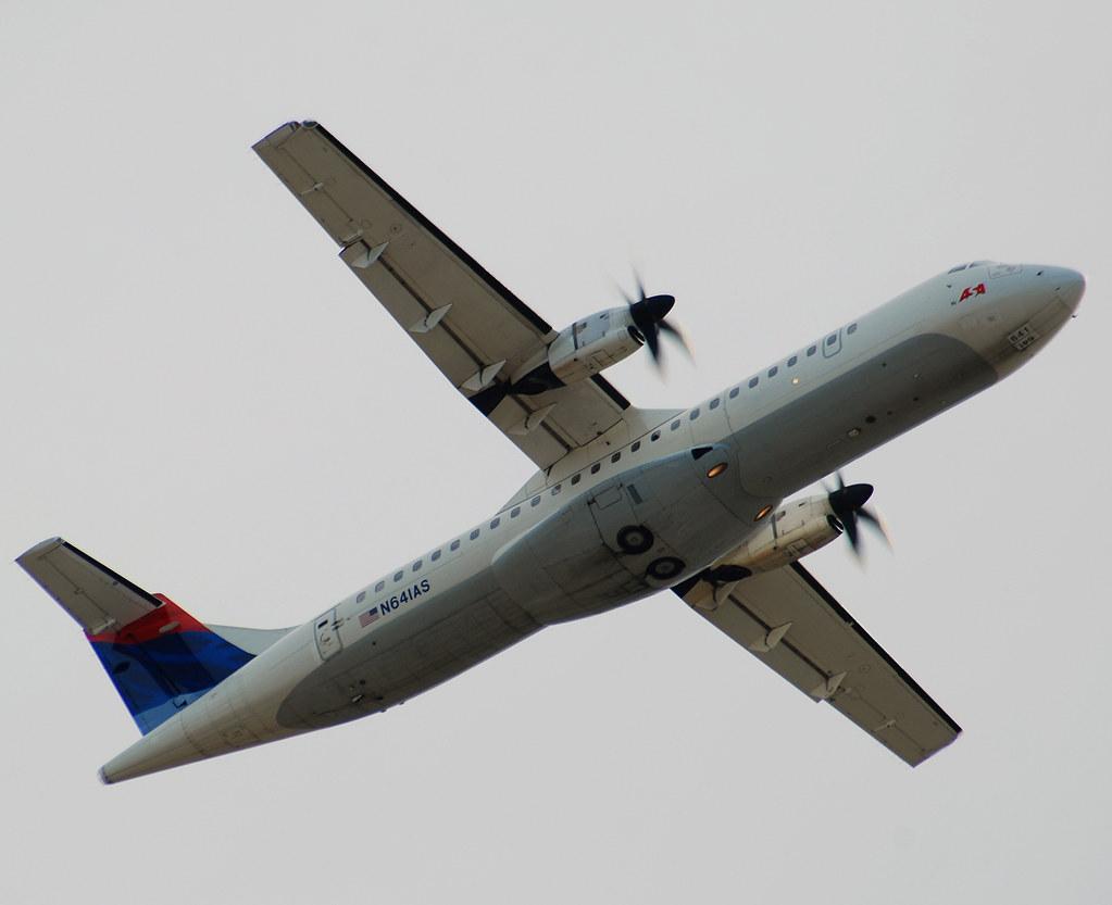 Delta connection asa atlantic southeast airlines atr atr 72 212