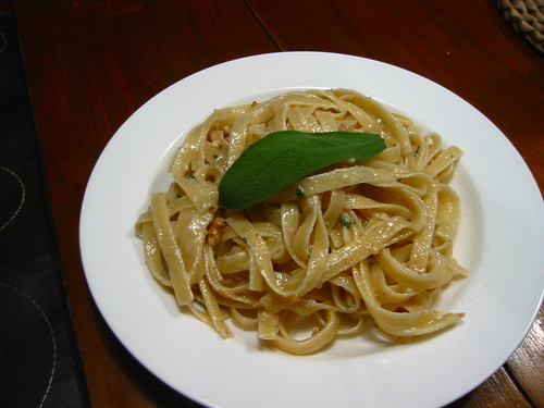 Fettucine with Mascarpone