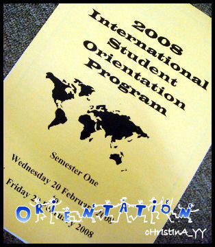 2008 International Student Orientation Program