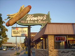Henry's drive In on Ogden Avenue / Illinois U.S Route # 34. Cicero illinois.