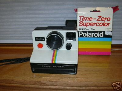 New Polaroid SX-70 Land Camera