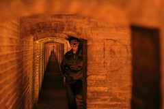 (AFFoto.de Photography) Tags: iran candid isfahan espahan khajubridge undertheoldbridge duellook dualendpoints