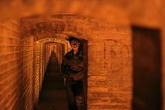 (AFFoto.de Photography) Tags: iran candid isfahan espahan khajubridge undertheoldbridge duellook dualendpoints