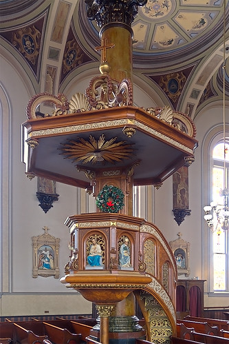 Saint Joseph Shrine, in Saint Louis, Missouri, USA - pulpit