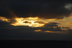 Sunrise in the Caribbean (afagen) Tags: cruise clouds sunrise caribbeansea enchantmentoftheseas