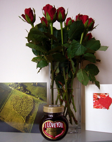 Say it with Roses, Hearts and.... Marmite!