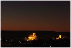 Lauffen_at_night (KurtFML) Tags: longexposure castle church night germany nightshot tripod 30sec badenwürttemberg lauffen regiswindis regiswindiskirche nikkor105mmf28gvrmicro