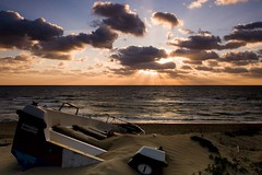 Unreachable (gab 79) Tags: sunset sea italy landscape bravo italia tramonto mare canonef1740mmf4lusm coldwind gnd avision mcb1604 poseidonsdance