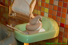 Modern Toilet Restaurant photo-06 ice cream in the urinal? (Badger 23) Tags: camp food strange dessert bathroom restaurant weird yummy funny chocolate humor taiwan toilet kitsch wc eat gross poop icecream lustig vanilla taste poo formosa urinal engraado  potty questionable divertente eatery  bathroomhumor divertido drle watercloset grappig ximen republicofchina    taiwn iceshavings