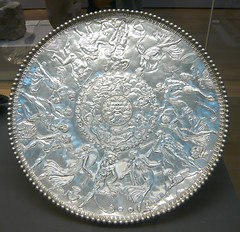 Mildenhall Treasure: The Great Dish (David Biggins) Tags: silver treasure dish roman britain plate bacchus hoard pan britishmuseum neptune hercules nymphs mildenhall oceanus satyrs