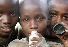 Sniffing glue (martien van asseldonk) Tags: kenya nairobi drugs citycentre martienvanasseldonk