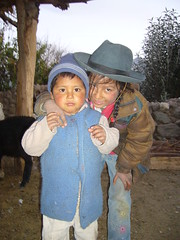 Huaynacotas enfants