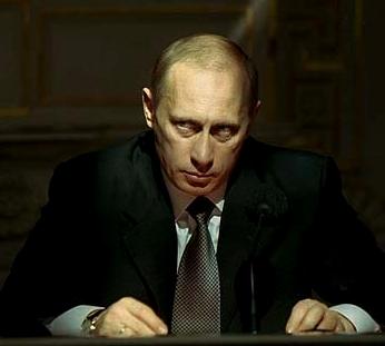 Vai Putinam rādās baltās pelītes? Foto: Dodgeblogium