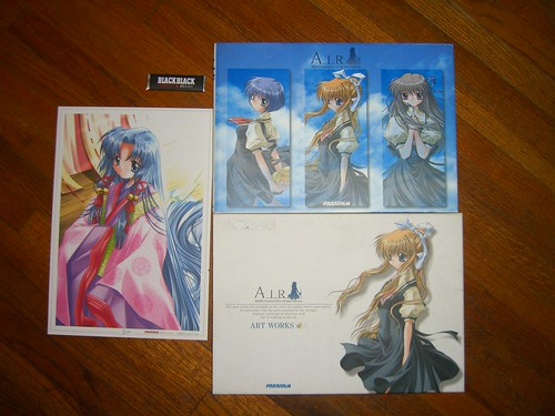 Air artbook cover slip