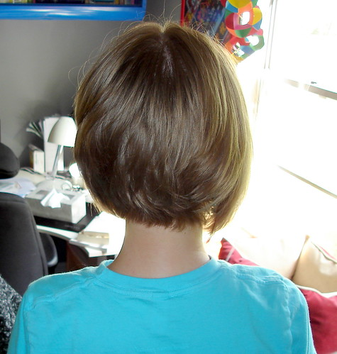 Photo of Hairstyle Cowlick