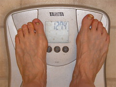 gå ner fem kilo på en vecka