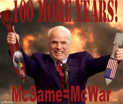 McSame McWar