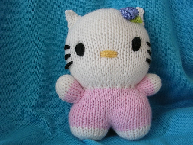 Knitting Pattern Hello Kitty : HELLO KITTY KNITTING PATTERNS FREE PATTERNS
