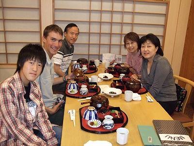 Ren, Craig, Onada-san, Iizuka-san, Emi Onada