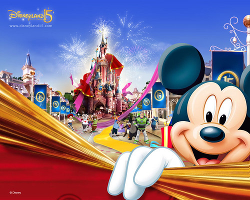 Disneyland Paris 15 anniversary continued wallpaper by House Of Secrets Incorporated