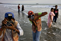 Photographers - Cox's Bazar (Maciej 'Magic' Stangreciak) Tags: ocean people sun beach water photography photo sand holidays asia magic photographers tourist resort souvenir bengal bangladesh bangla maciej bayofbengal bangladeshi coxsbazar holidaymakers 40d holidaydestination mrmagic chittagongdivision maciejstangreciak stangreciak pbasecommagic maciejmagicstangreciak maciejmagic