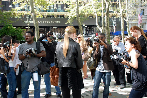 Bryant Park Fashion Week Street Shots 2008