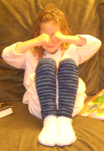 Willow's legwarmers