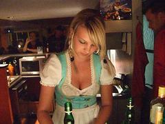 Dirndl (Kecko) Tags: party people girl beauty bar night geotagged fun restaurant schweiz switzerland video pub suisse swiss lounge melanie kecko ostschweiz anchor late sg svizzera rheintal 2008 altstaetten anker dirndl rocktober altstätten swissvideo rheintalvideo geo:lat=47378563 geo:lon=9539974