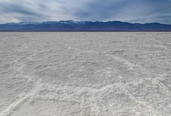Badwater Basin (view large) || Death Valley (David Marriott - Sydney) Tags: california unitedstates us badwater basin death valley salt lake crystals mountain