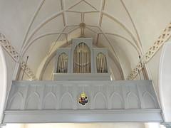 1864 Paretz Orgel von Gesell in Potsdam Dorfkirche Parkring in 14669 (Bergfels) Tags: architekturführer bergfels 1864 1860er 19jh preusen friedrichwilhelmiv paretz neogotik gotik orgel kirchenorgel gesell kirche dorfkirche parkring 14669 beschriftet