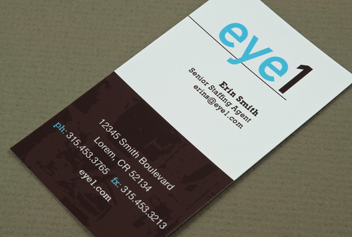 Employment Agency Business Card