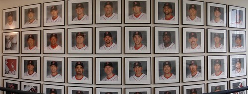 The wall inside 4 Yawkey Way