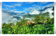Greetings from my village Majuwa :) (` TheDreamSky) Tags: nepal cloud green nature hdr dreamsky 3xp noelectricity  bhojpur kulung majuwa sanamajuwa puchaartole puchartole nepaledanda bhojpure