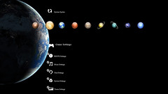 Solar System PS3 Theme Preview