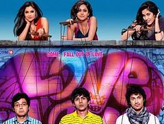 [Poster for Pyar ka Punchnama with Luv Ranjan, Kartikeya Tiwari, Rayo Bhakhirta, Divyendu Sharma, Sonalli Sehgal, Nushrat Bharucha, Ishitta Sharma]