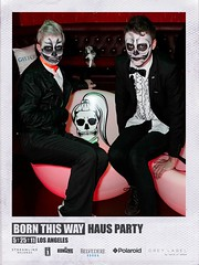 Haus Party- Los Angeles (Polaroid Little Monsters) Tags: california polaroid losangeles bal hausparty gl10 bornthisway ladygaga instantmobileprinter greylabel