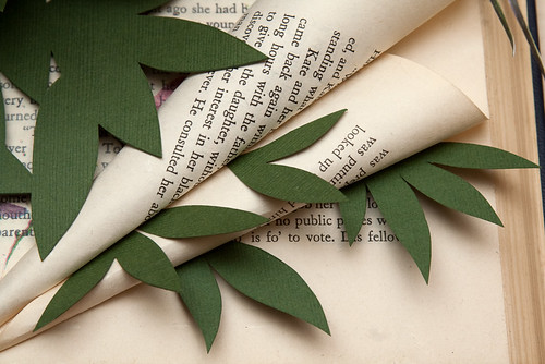 Altered Book Thumbelina-7