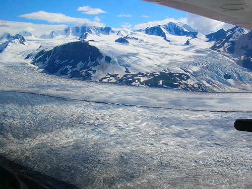 The birth place of the Colony Glacier