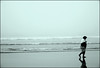 127 (JAM1978) Tags: bw woman white black blanco beach lady walking blackwhite loneliness negro asturias playa bn minimal paseo pensive soledad minimalismo gijon blanconegro virado señora espacionegativo menosesmas