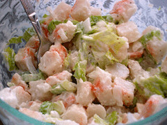 vegan shrimp salad