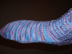 Baby Cable Rib Socks 027