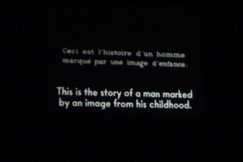 ACP 9 Film Series: Chris Marker's La Jetee