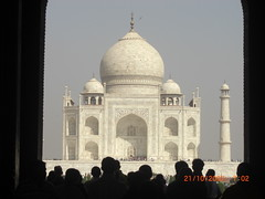 Agra 5 - Taj Mahal