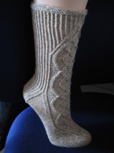 Celtic Braid Socks f?r Steffi