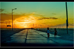 Hold My Hand, It'll Be Alright. (mngl) Tags: road sunset kids children nikon searchthebest mongolia gobi nikond200 25faves zamynuud anawesomeshot mngl edorj erhemchuhal erkhemchukhal erkhemchukhaldorj erhemchuhaldorj photofaceoffwinner pfogold